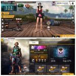 Akun Free Fire Rank Diamond 1 Akun GG Gratis